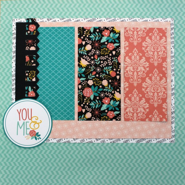 Creative Memories Bright Border Page