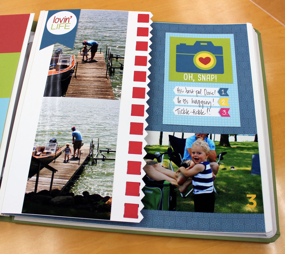 Creative Memories Cut Page Technique