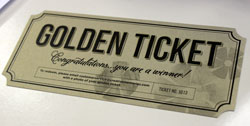 Creative Memories Golden Ticket