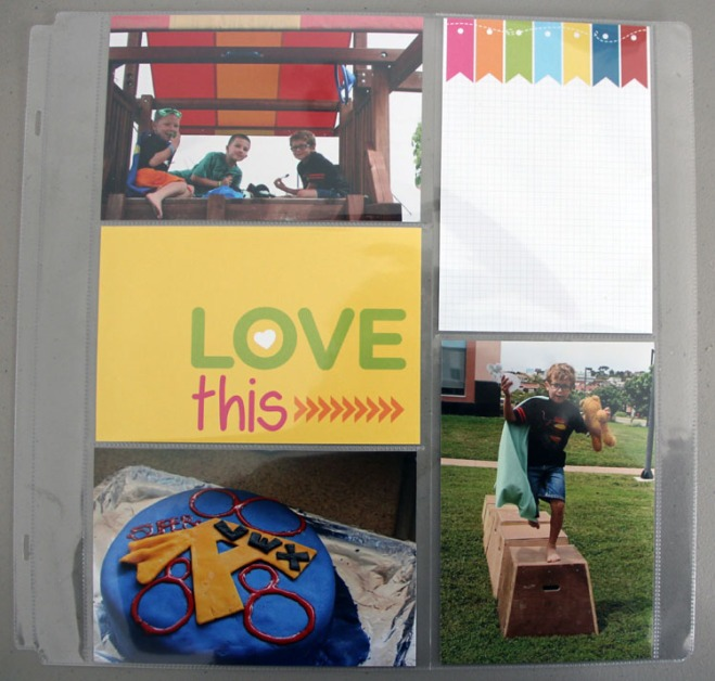 Uses for Creative Memories Slide-In Cards
