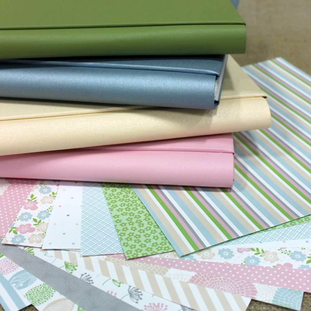Pretty in Pastel Papers