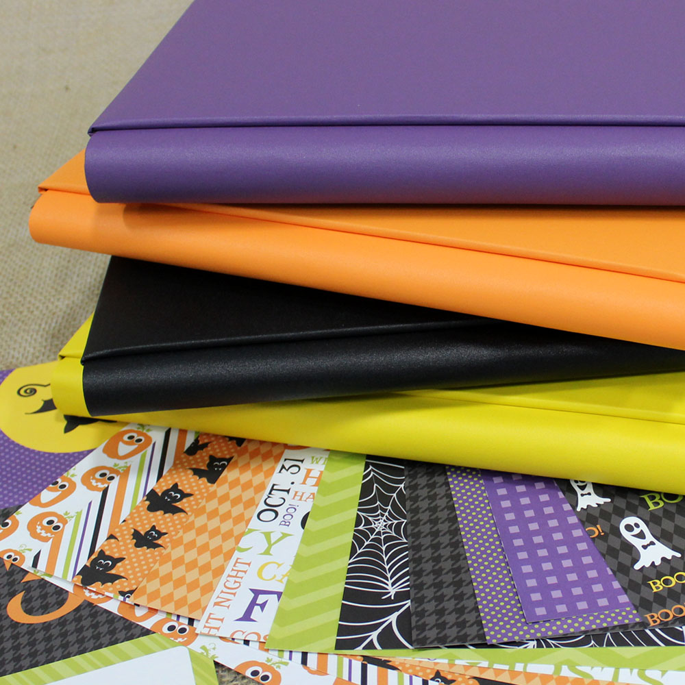 Halloween Scrapbook Papers
