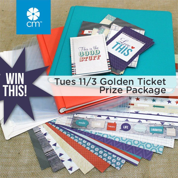 Tuesday Golden Ticket Prize Package