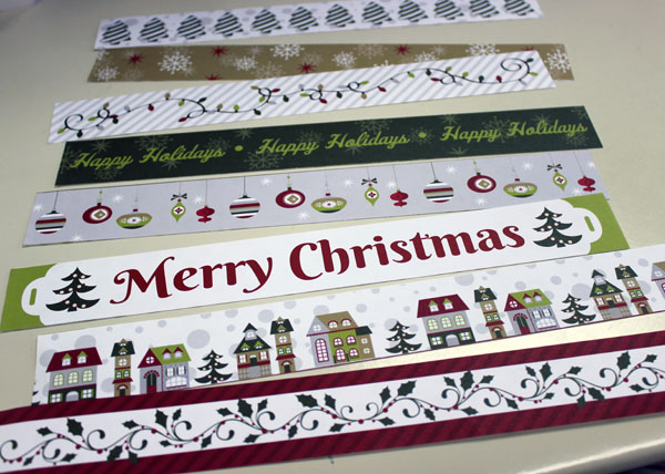 Christmas Joy Border Sheet