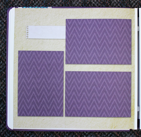 Fall Page Layout Before