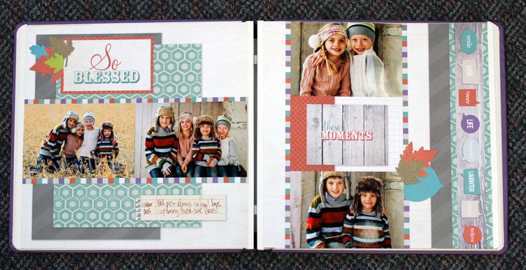 Creative Memories Fall Layout