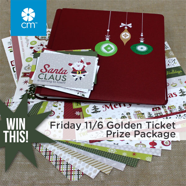 Golden Ticket Prize Package