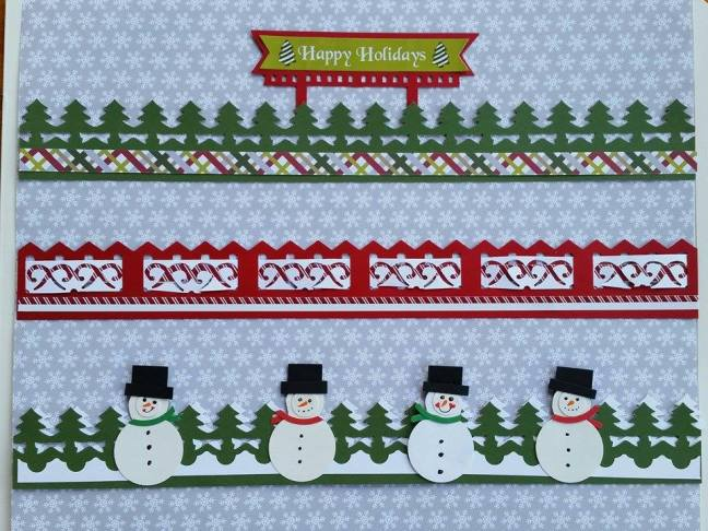 Christmas Joy Border Ideas