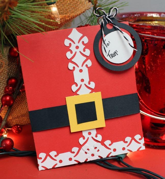 Christmas Gift Card Holder Ideas.12 Days Of Christmas Ideas Day 2 Santa Gift Card Holder