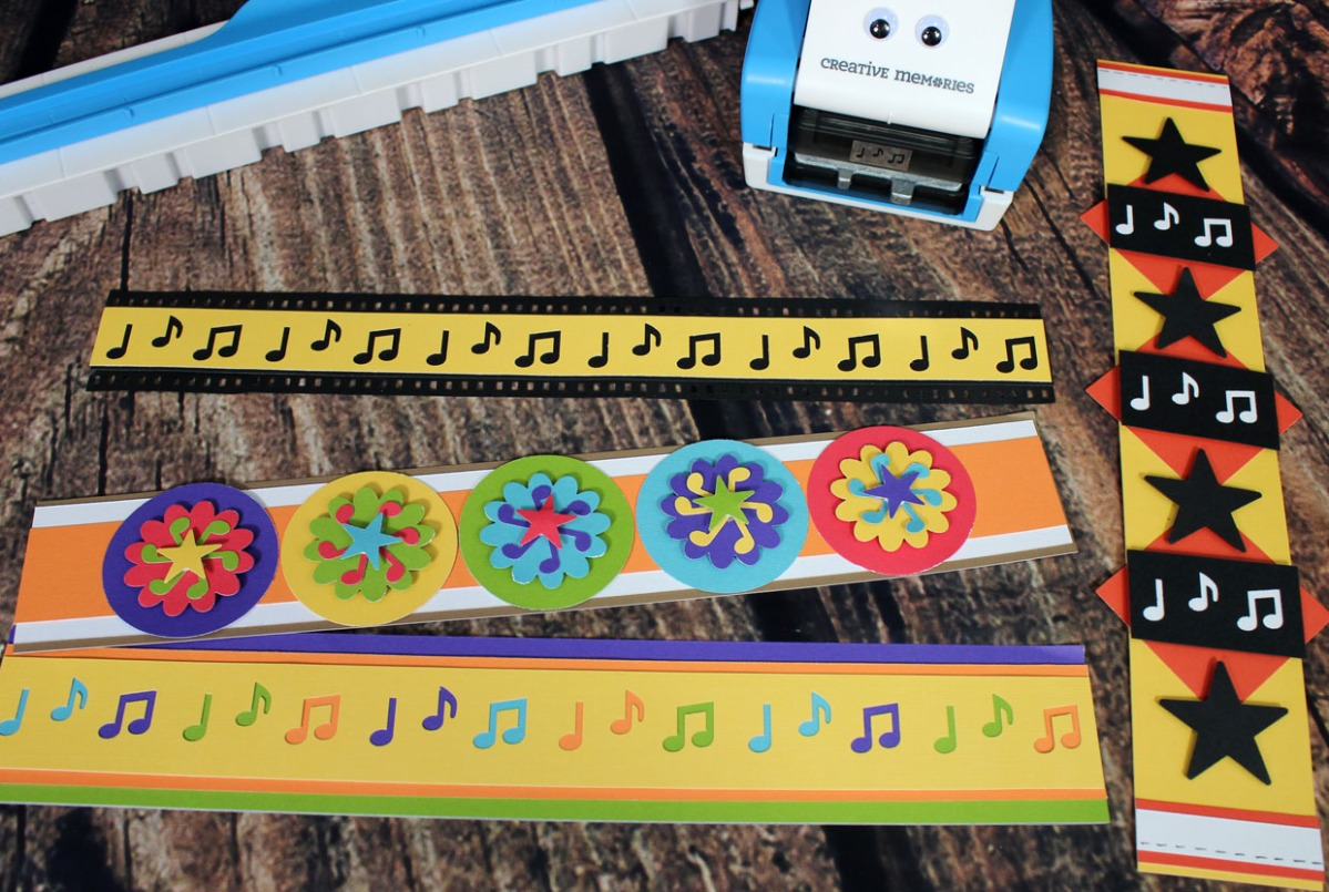 Scrapbook ideas creative memories - Musicbordersimage Jpg W 1200