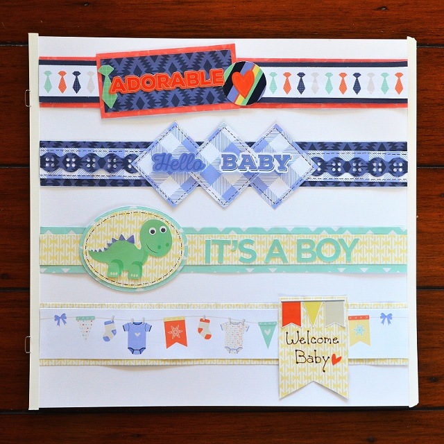 One year dating scrapbook ideas