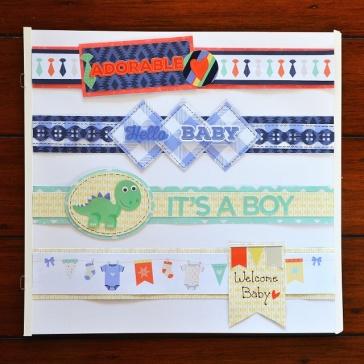 Fun Border Ideas For Baby Scrapbook Layouts Creative Memories Blog