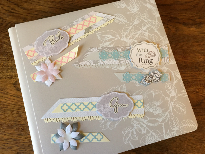 wedding title scrapbook border ideas  u2013 creative memories blog