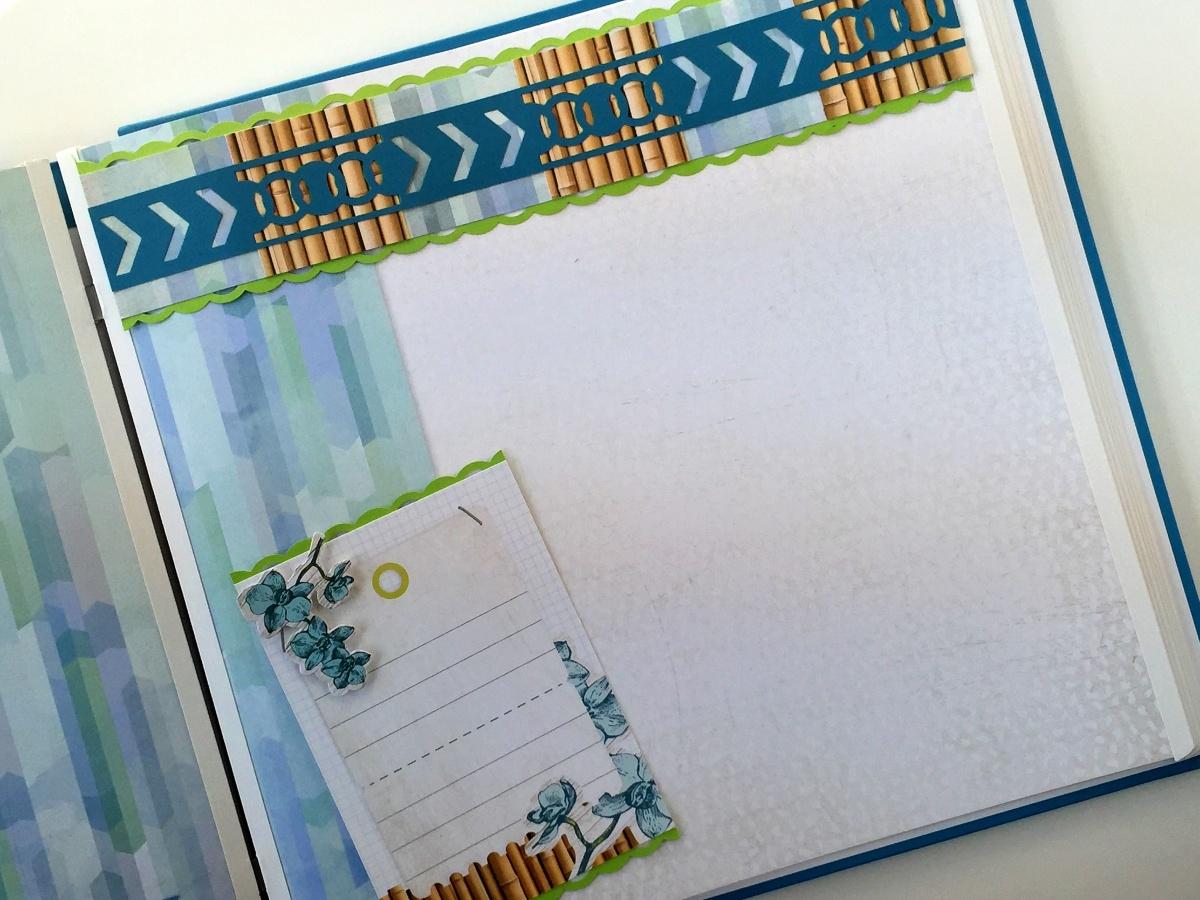 Scrapbook ideas hawaii - Circle Weave Border Maker Cartridge Scrapbooking Ideas
