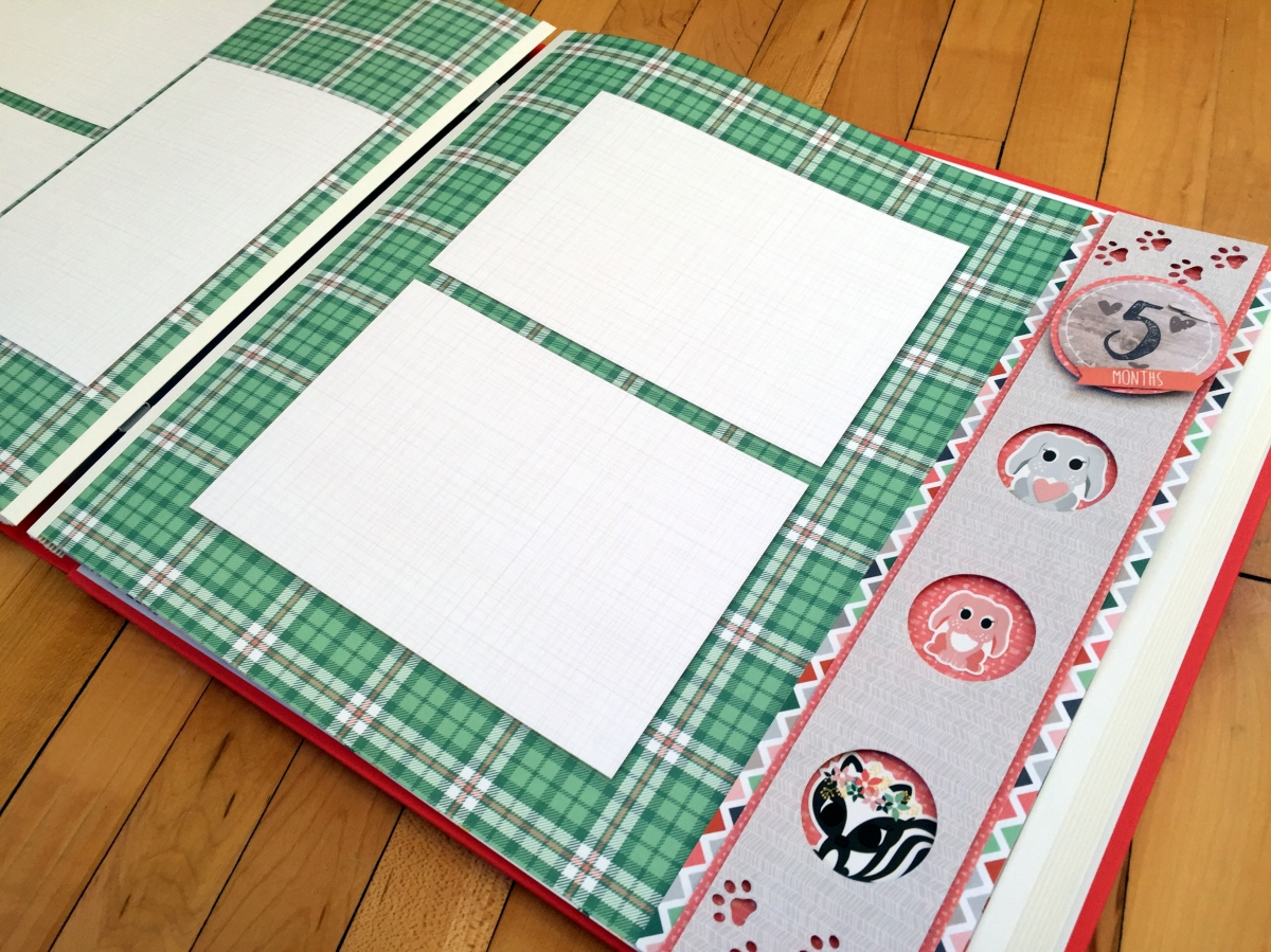 Scrapbook ideas for dogs - Woodland Whimsy Baby Borders
