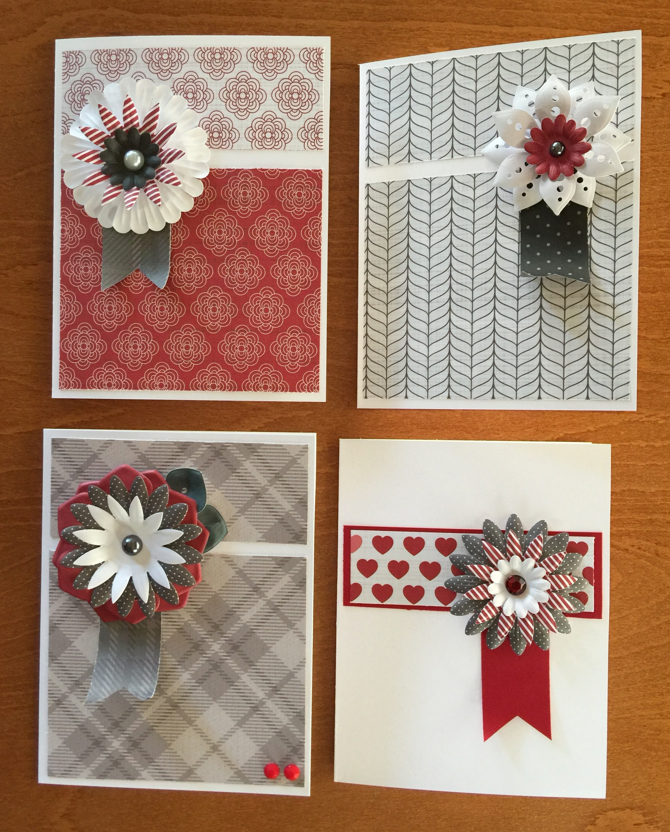 Set of Four Notecards