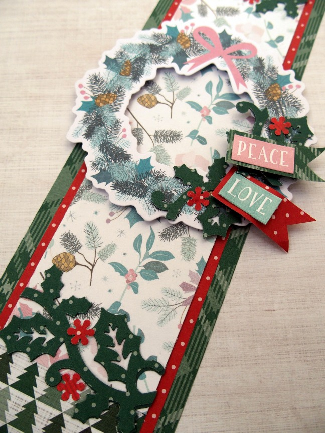 Holly-Punch-Peace-Love-Wreath-Scrapbook-Border-Creative-Memories