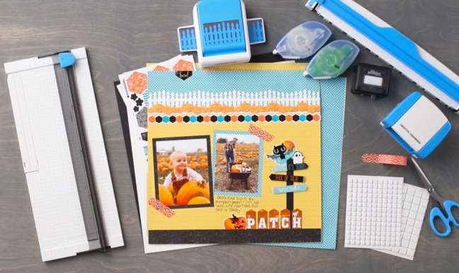 Toil-Trouble-Halloween-Layout-Project-Creative-Memories