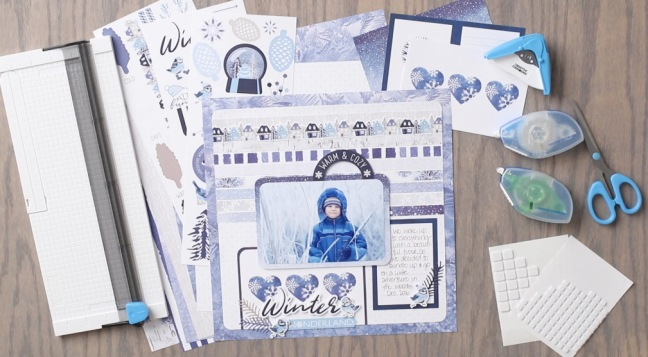 Glacier-Collection-Layout-Project-Creative-Memories