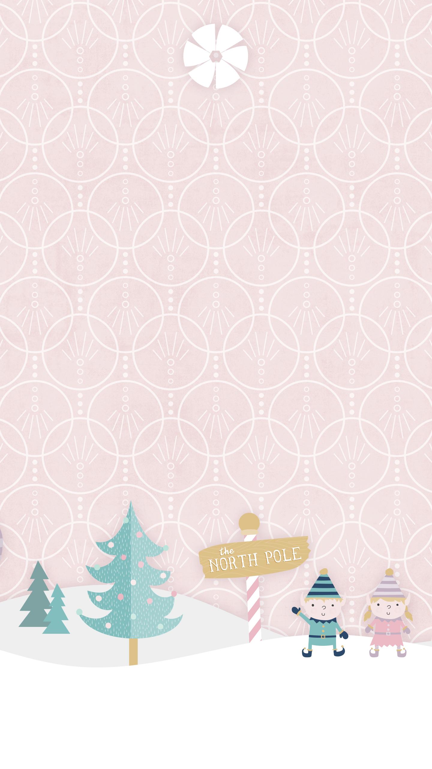Download Sugarplum Forest Snowfall Wallpaper · Download Sugarplum North Pole Wallpaper ...