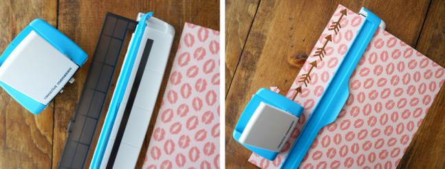 Arrow Border Maker Cartridge with Heart Paper