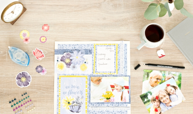 8-Simple-Steps-to-a-Spring-Scrapbook-Layout-by-Creative-Memories