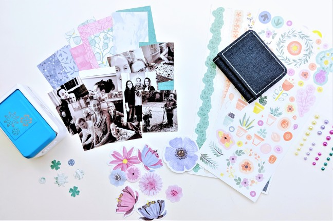Make-a-Mini-Scrapbook-Photo-Album-Using-Full-Bloom-Creative-Memories