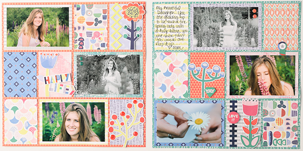 Creative-Memories-Sorbet-Scrapbook-Layout
