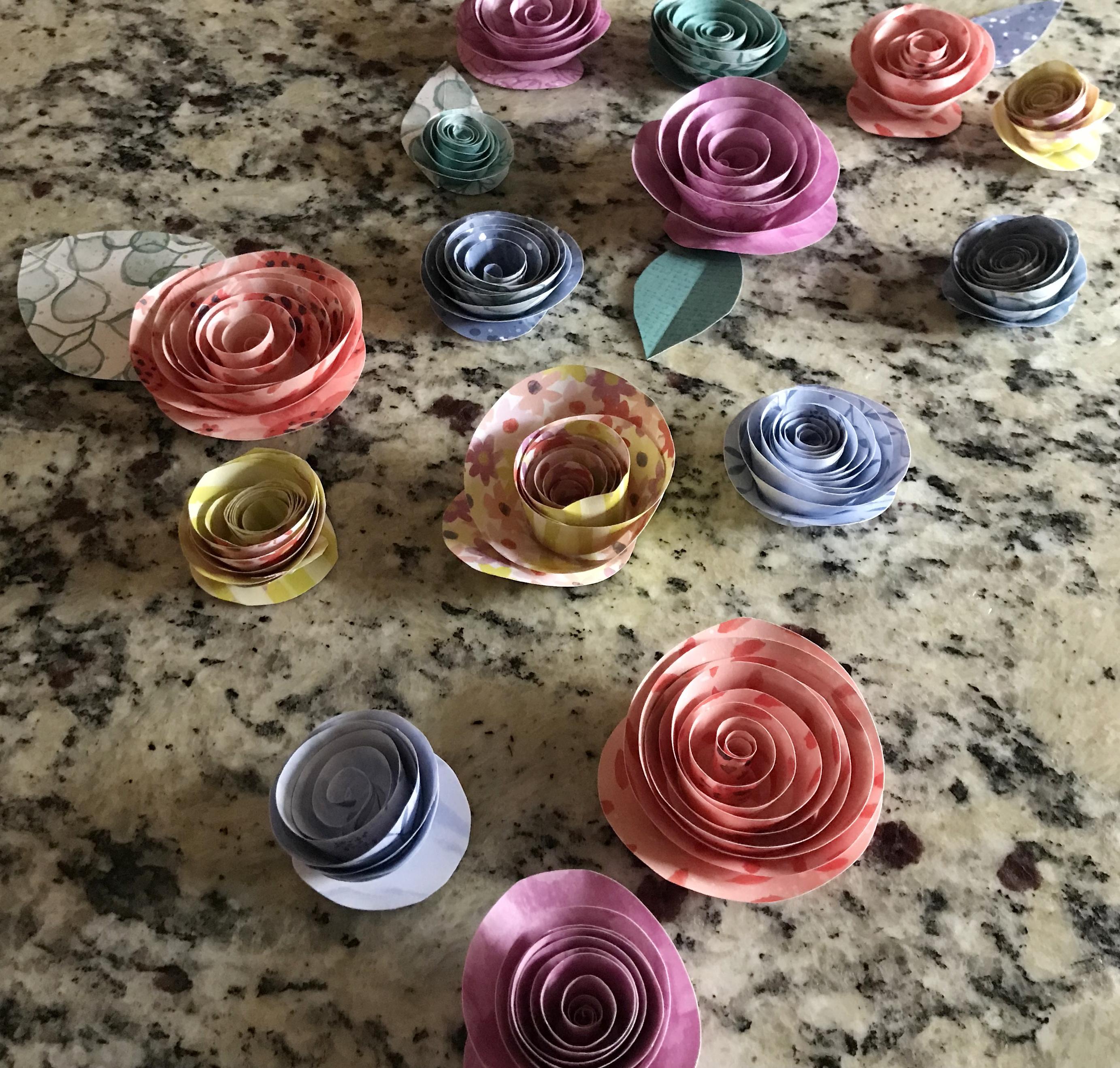 Diy Paper Flowers Full Bloom Creative Memories12 Creative Memories