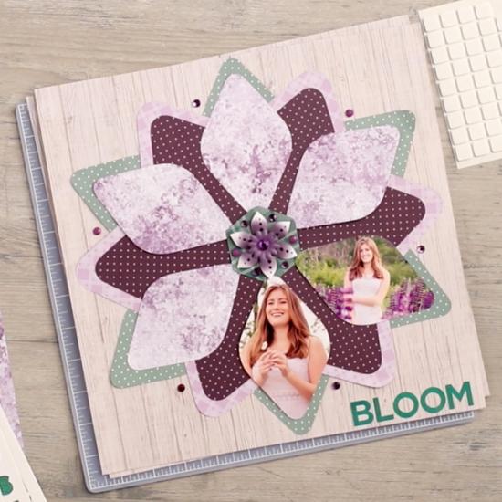 Flower-Scrapbok-Old-Layout-Gemstone-Patterns-Creative-Memories