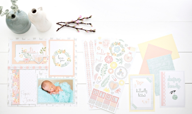 Little-Lamb-Baby-Girl-Mat-Pack-Layout-Creative-Memories1