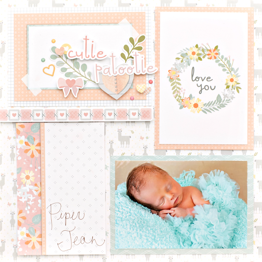 Little-Lamb-Baby-Girl-Mat-Pack-Layout-Creative-Memories5