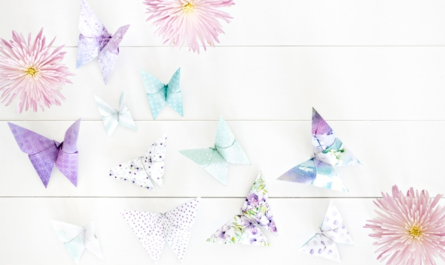 You May Have Noticed The Origami Butterflies In A Few Of Our Marketing Images For Collection Today