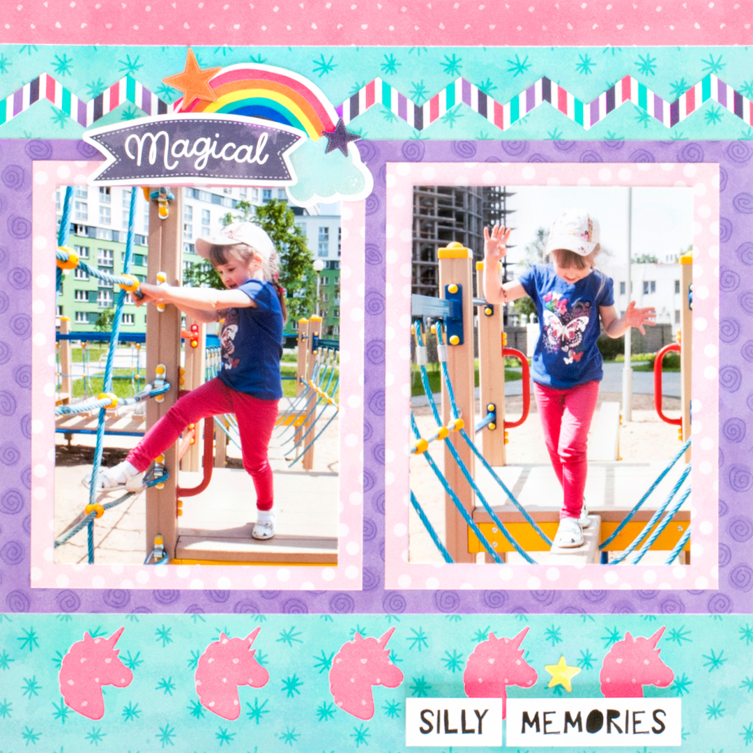 Super Duper Easy Childrens Scrapbook Layouts To Do With The Kids