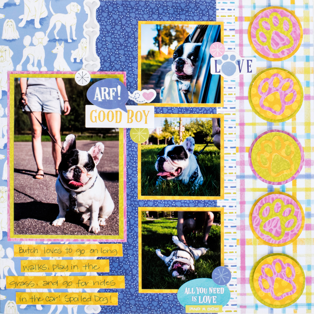 Best-In-Show-Dog-Scrapbook-Layout-Creative-Memories1