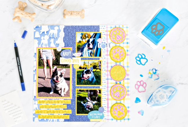 Best-In-Show-Dog-Scrapbook-Layout-Creative-Memories3
