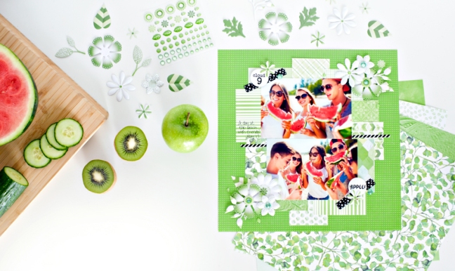Mix-Match-Green-Feature-Friday-Creative-Memories