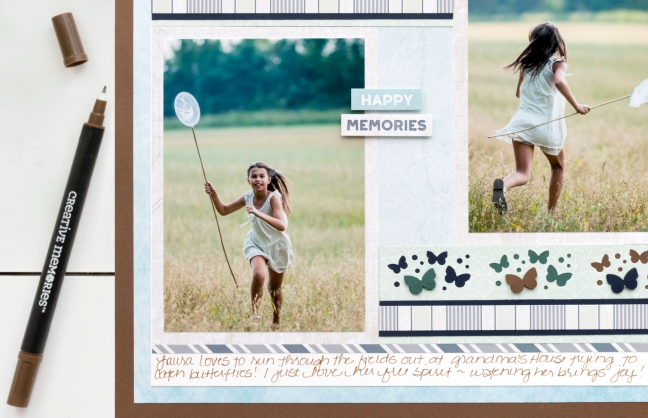 Maritime-Butterflies-Border-Maker-Cartridge-Scrapbook-Layout-Journal-Creative-Memories