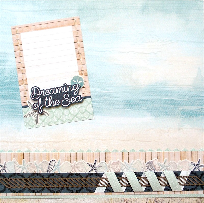 Create Beautiful Beach Themed Scrapbook Borders With The Maritime Collection Creative Memories