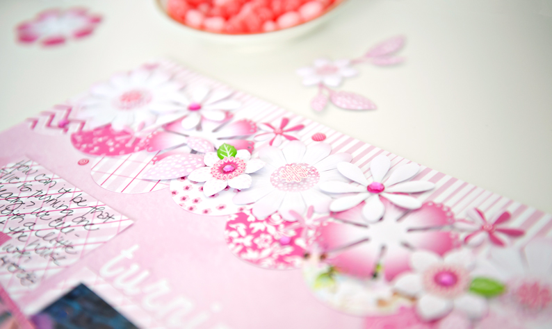Mix-Match-Pink-Flower-Scrapbook-Layout-Creative-Memories6