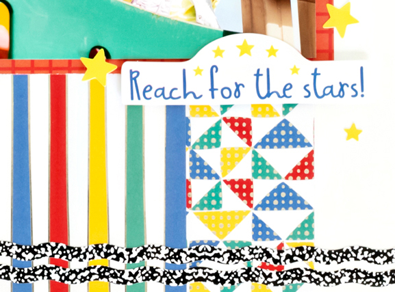 Essentials-Foil-Paper-Sunshine-Border-Maker-Cardtridge-Scrapbook-Layout-Creative-Memories4