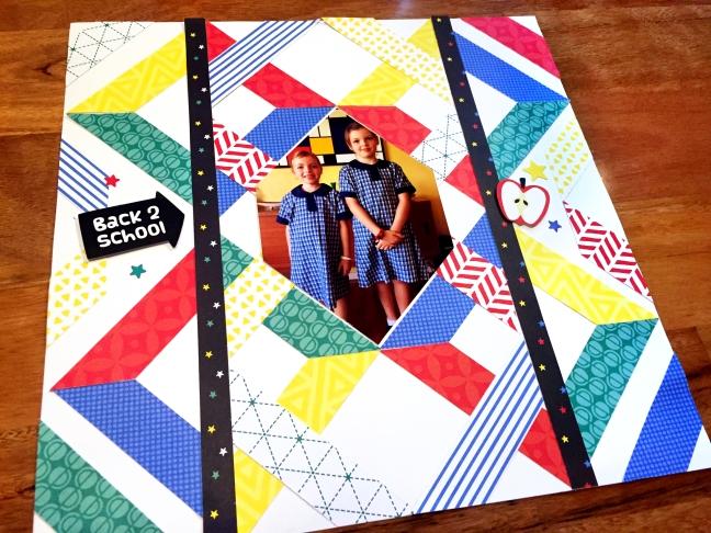 An Essentials Geometric Scrapbook Idea You Ll Love