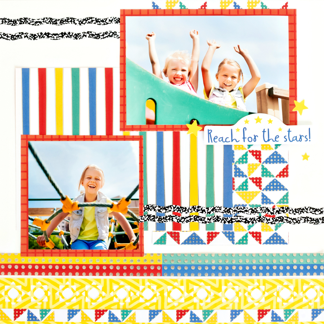 Ideas-For-Using-Cardstock-Scrapbooking-Background-Creative-Memories2