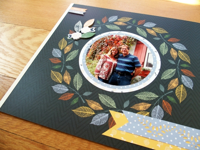 Create Easy Fall Scrapbook Layouts With The Gather Together