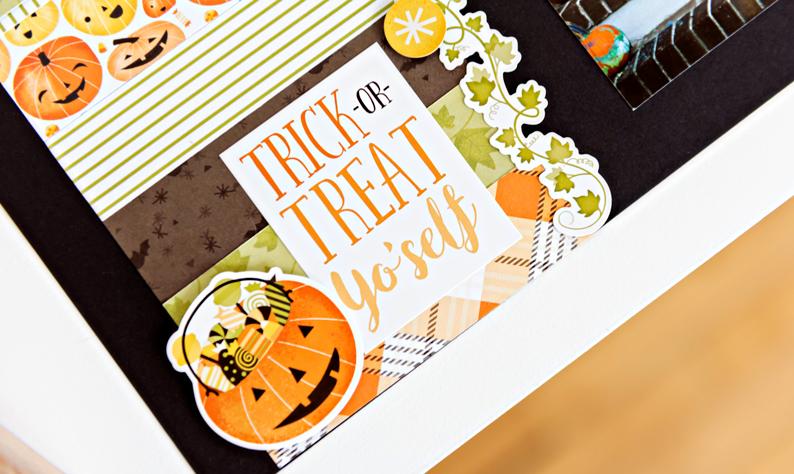 Pumpkin-Spice-Halloween-Scrapbook-Layout-Closeup2-Creative-Memories