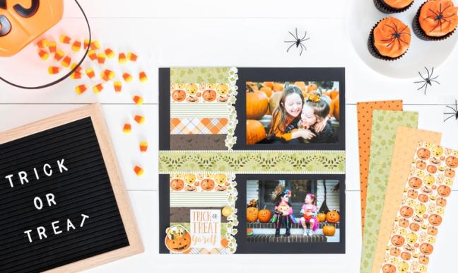 Pumpkin-Spice-Halloween-Scrapbook-Layout-Ideas-Creative-Memories-2