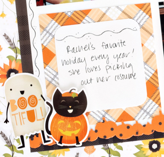 Pumpkin-Spice-Halloween-Scrapbook-Layout-Process1-Creative-Memories
