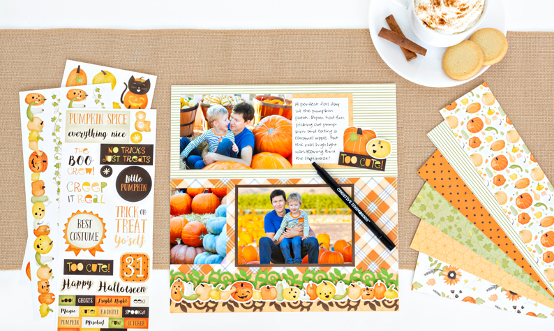 Pumpkin-Spice-Halloween-Scrapbook-Supplies-Creative-Memories-3