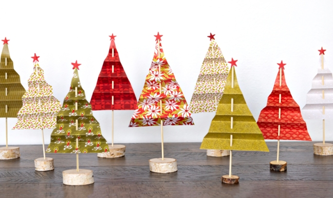 Add Holiday Spirit To Your Home With This Diy Christmas Tree Paper