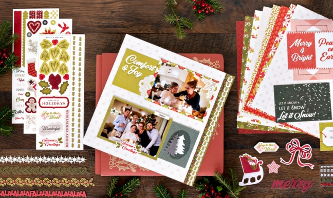 Sprinkle yuletide cheer into your album with this seasons greetings hopefully your camera is ready because the holiday season is coming up and its about to be busier than ever whether its decorating your home m4hsunfo